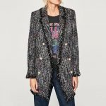 Camiseta y chaqueta tweed