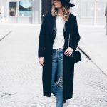 Camiseta y abrigo largo