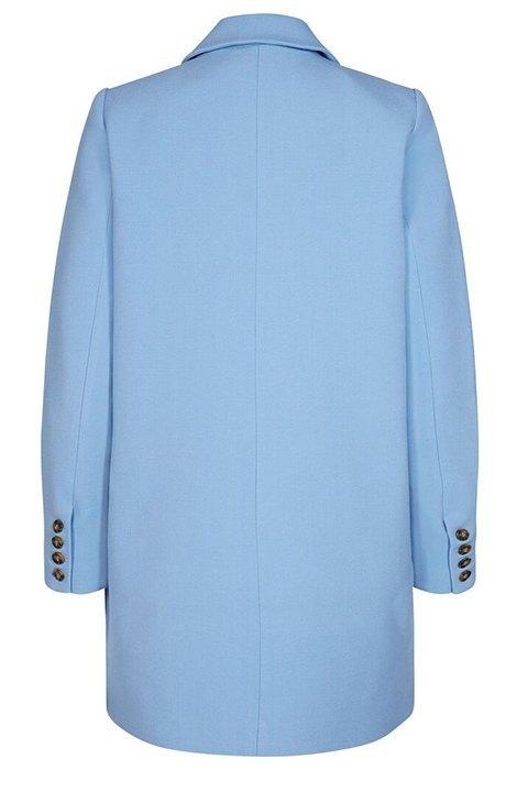 Espalda de blazer azul de Minimum