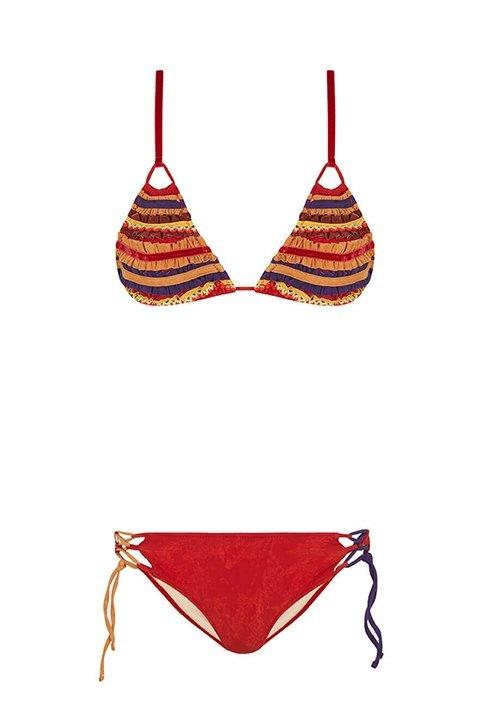 Bikini cortina Guillemina Baeza