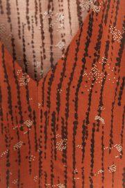"""Detalle del estampado del vestido Nairobi de """"ese O ese"""""""