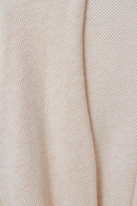 Detalle del tejido de la chaqueta kimono