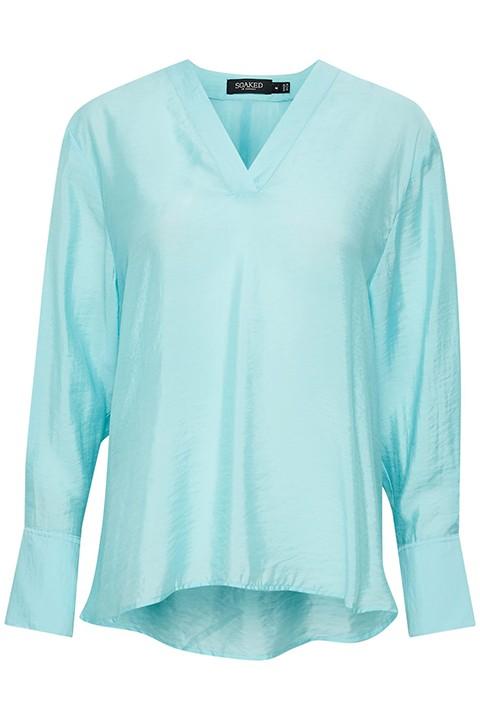 "Blusa en color turquesa ""Soaked"""