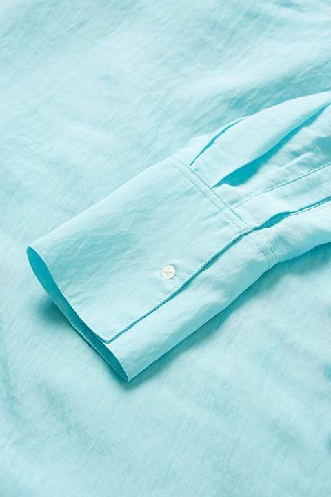Detalle de la blusa Valora de Soaked.