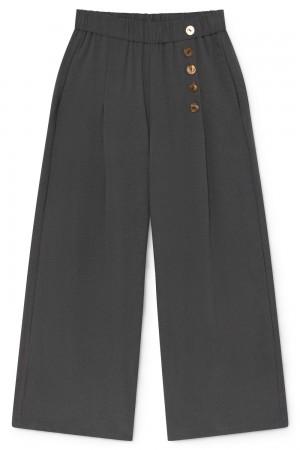 Pantalón cropped en gris antracita. Skatïe.