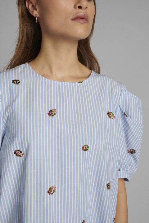 Detalle blusa Nudalia. Nümph.