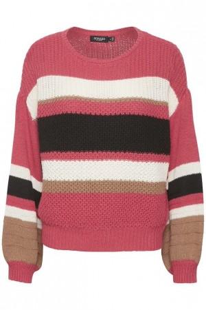Jersey de rayas en varios tonos.