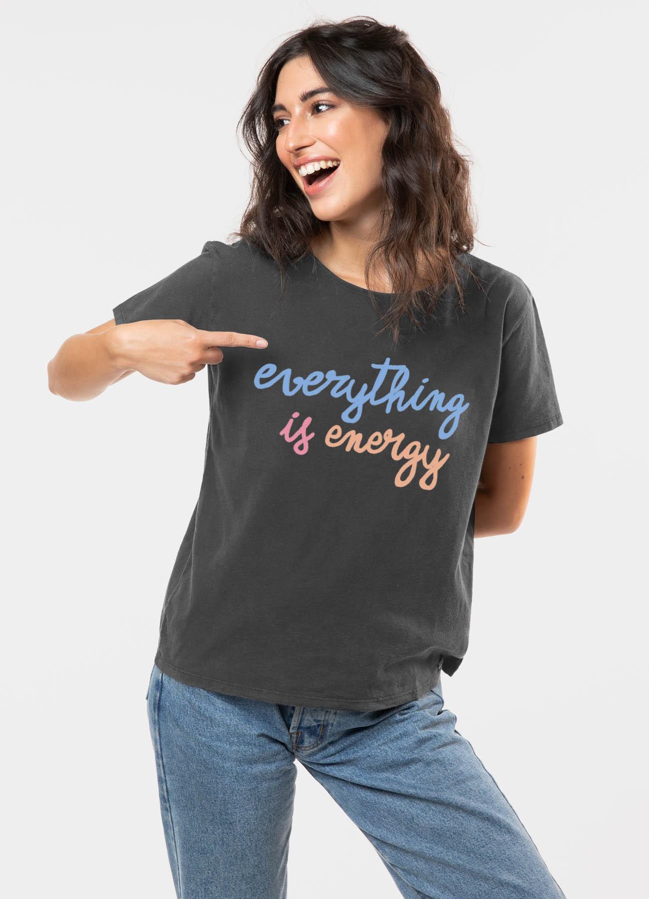 camiseta everythings energy. Dear tee. 2