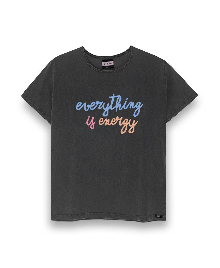 Camiseta everythings energy. Dear tee