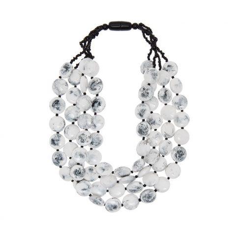 8748 collar resina blanco