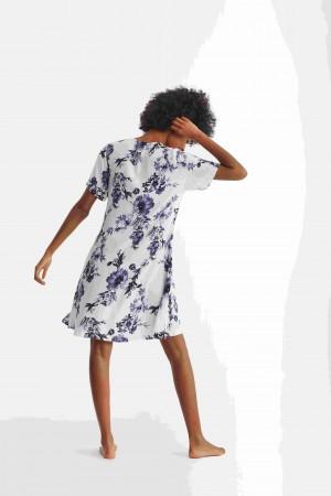 camisola promise espalda flores.