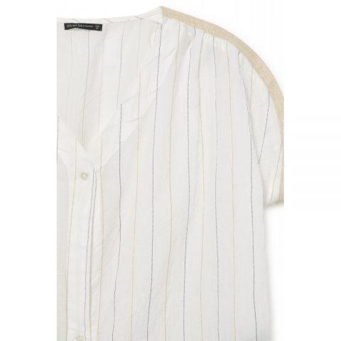 detalle blussa rayas skatie