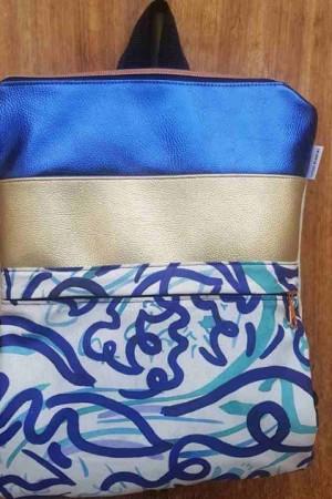 mochila adhara arte Lichis blancos
