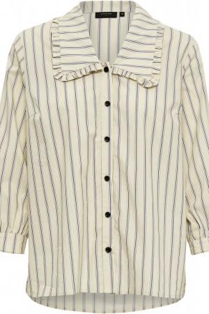 Camisa Louisa de rayas. Peppercorn.