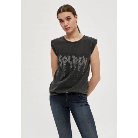 Camiseta negra Gosia. Desires.