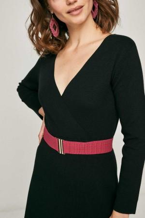 Detalle escote vestido Ebro Smile.